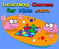 Learning games for kids: http://www.learninggamesforkids.
