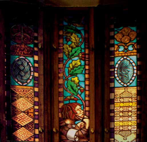 44. Stained glass