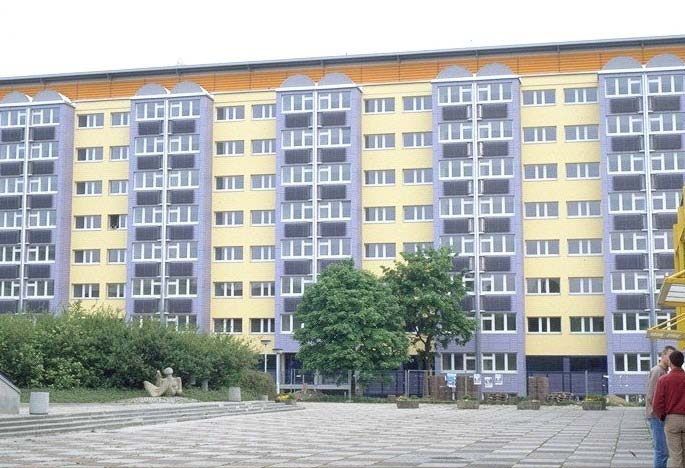 VITOSOL 200-T Student hall of residence in
