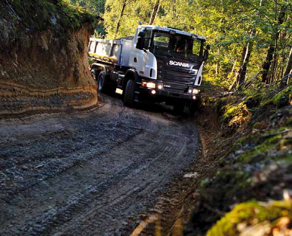 1 SCANIA King of the Offroad!