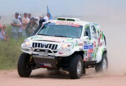 Rally) Toyota Landcruiser