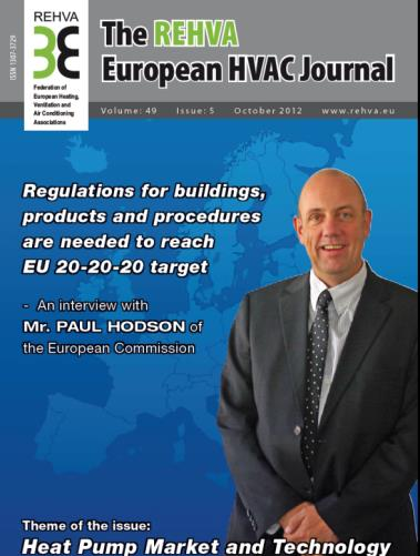 The REHVA European HVAC Journal Focus on European HVAC, energy and