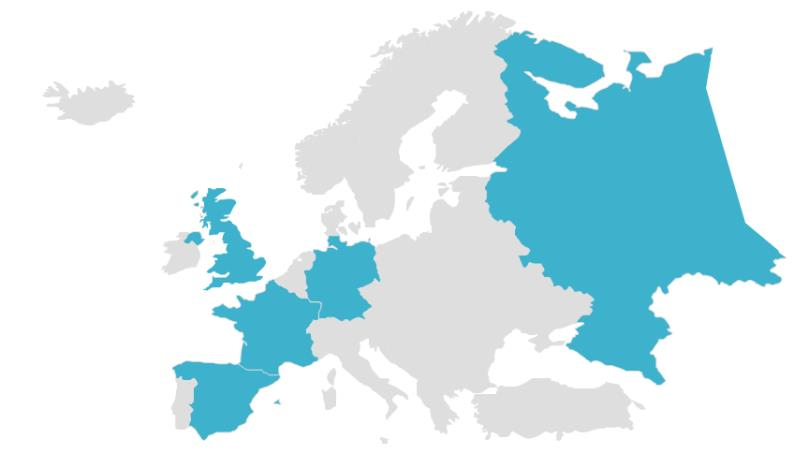 Europe E-commerce Key Data Source: Ecommerce Europe www.ecommerce-europe.
