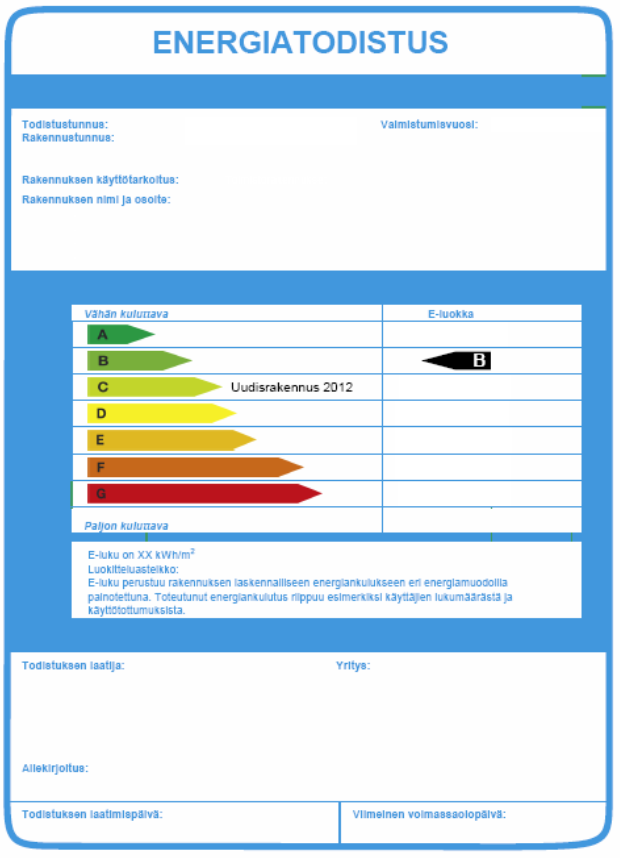 14/11/2012 26 Energy certificates and other environmental certificates based on calculated technical values are very important.
