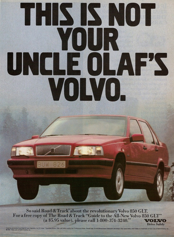 THIS IS NOT YOUR UNCLE OLOF'S