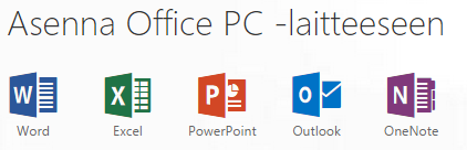 Office 365 sisältää myös palvelut omatoimiseen liiketoimintatietojen etsimiseen, analysoimiseen ja visualisointiin (self-service business intelligence).