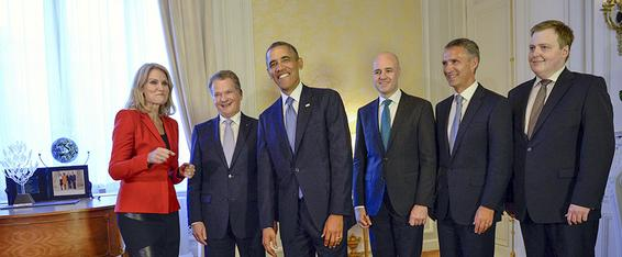 Lisäpotkua ponnistuksiin The United States and Nordic members of the Open Government Partnership, a multilateral initiative that asks governments to promote