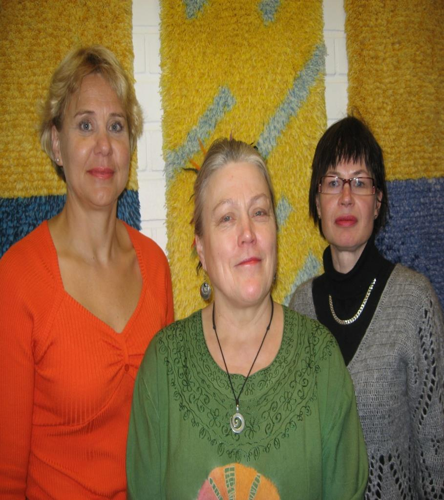 Heinänen-Klix, Anita Töyräs and diaconia priest Erja Kauppinen from