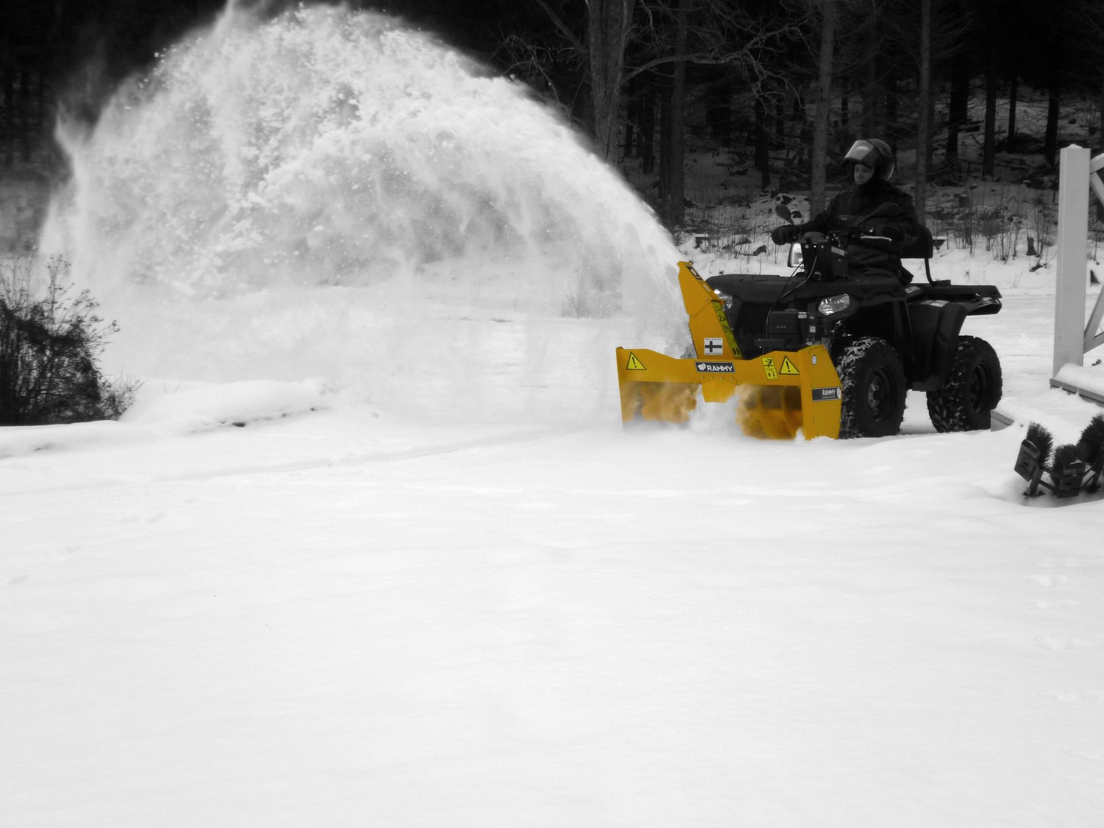 Snowblower 120 ATV Tuote-esite