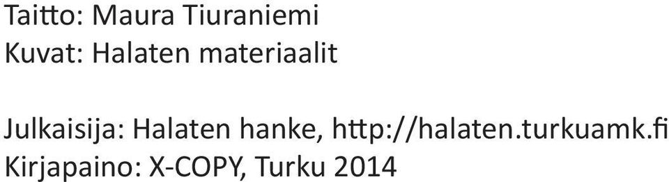Halaten hanke, http://halaten.