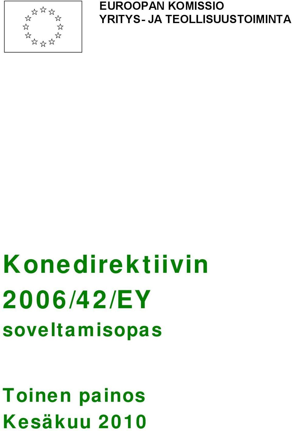 Konedirektiivin 2006/42/EY