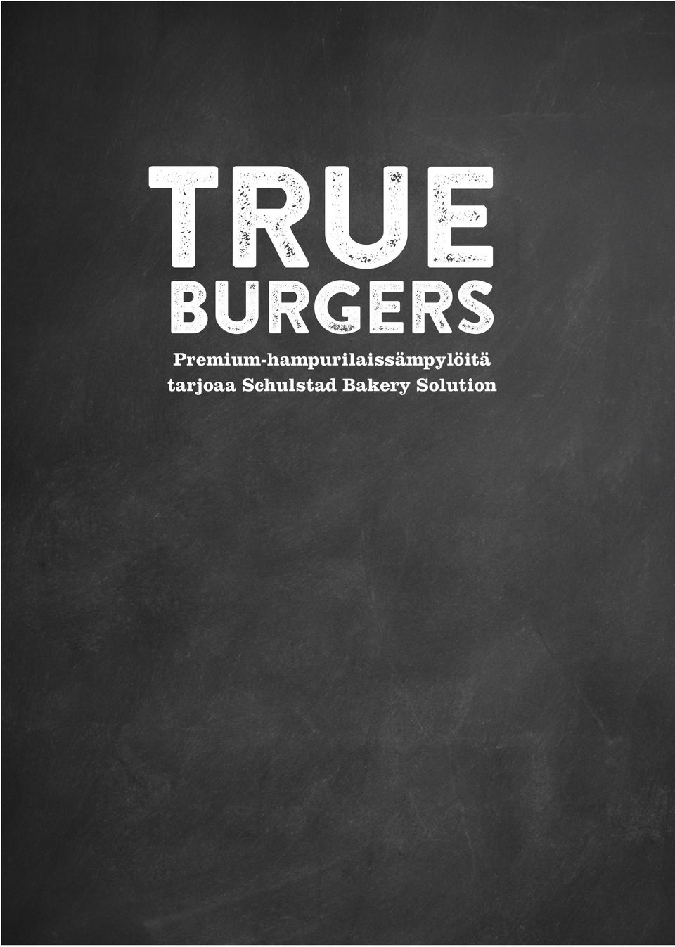 True burgers is a selection of gourmet buns that boost flavours as well as margins.