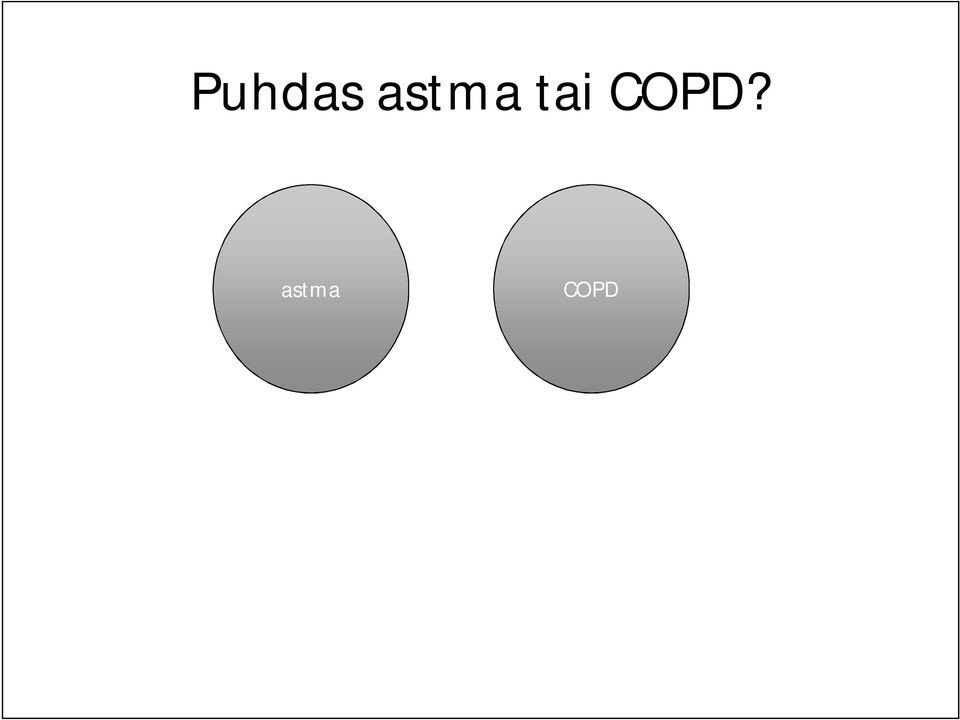 COPD?