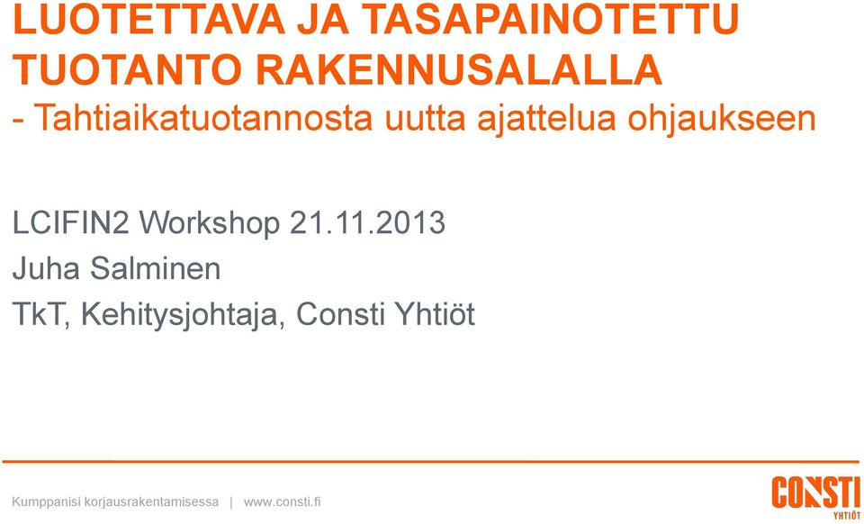 Workshop 21.11.
