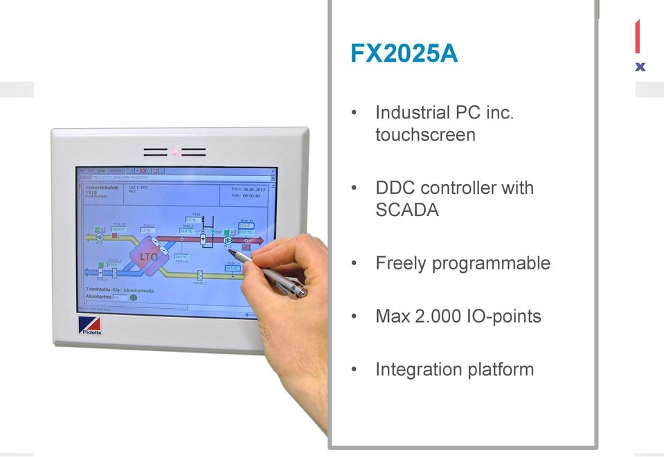 SCADA Freely programmable Max 2.