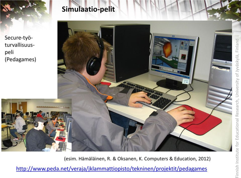 Computers & Education, 2012) http://www.peda.