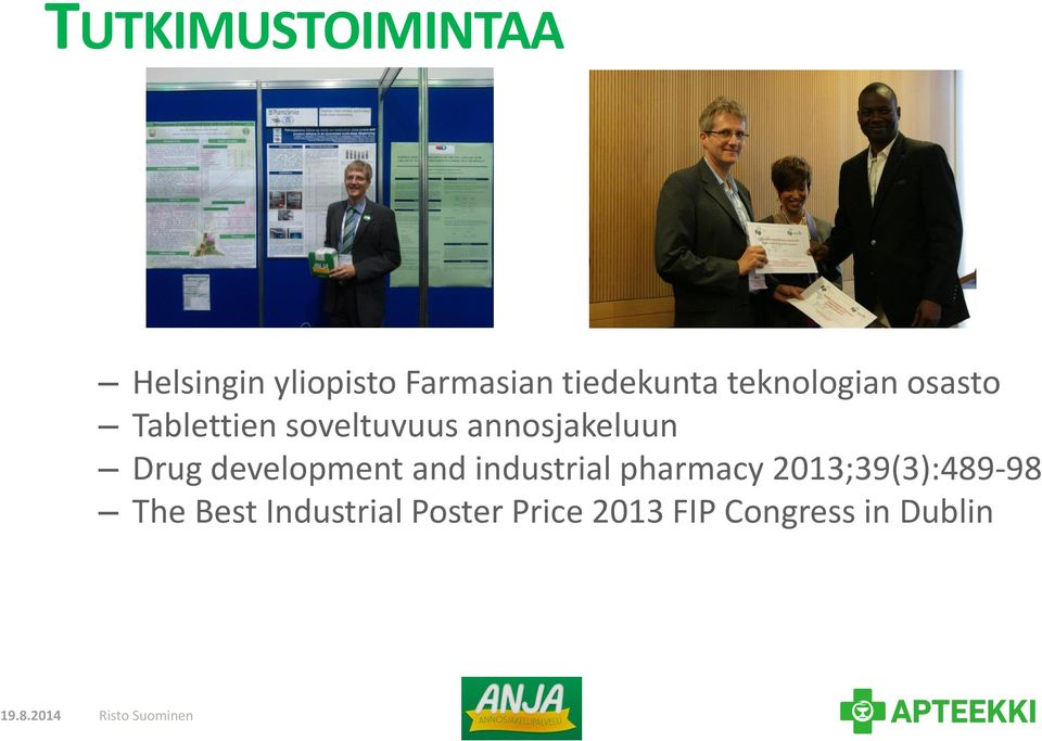 development and industrial pharmacy 2013;39(3):489-98 The Best
