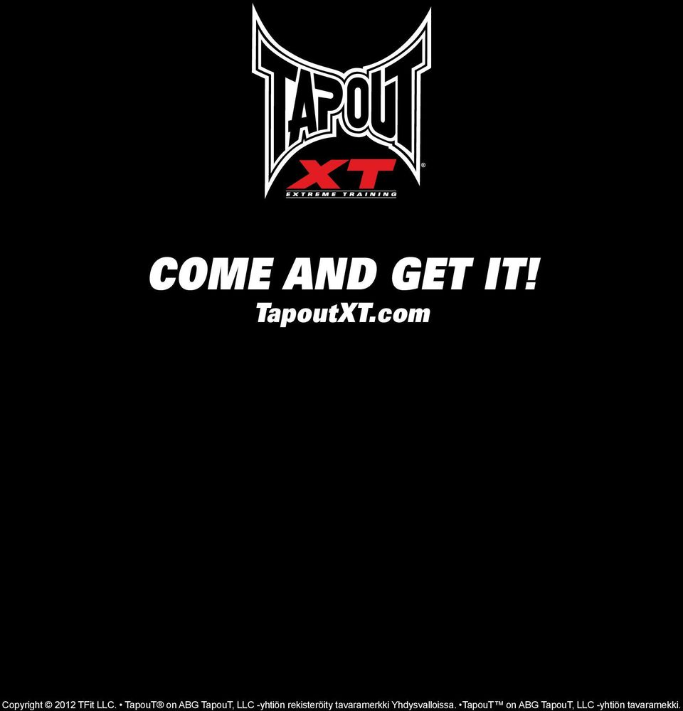TapouT on ABG TapouT, LLC -yhtiön