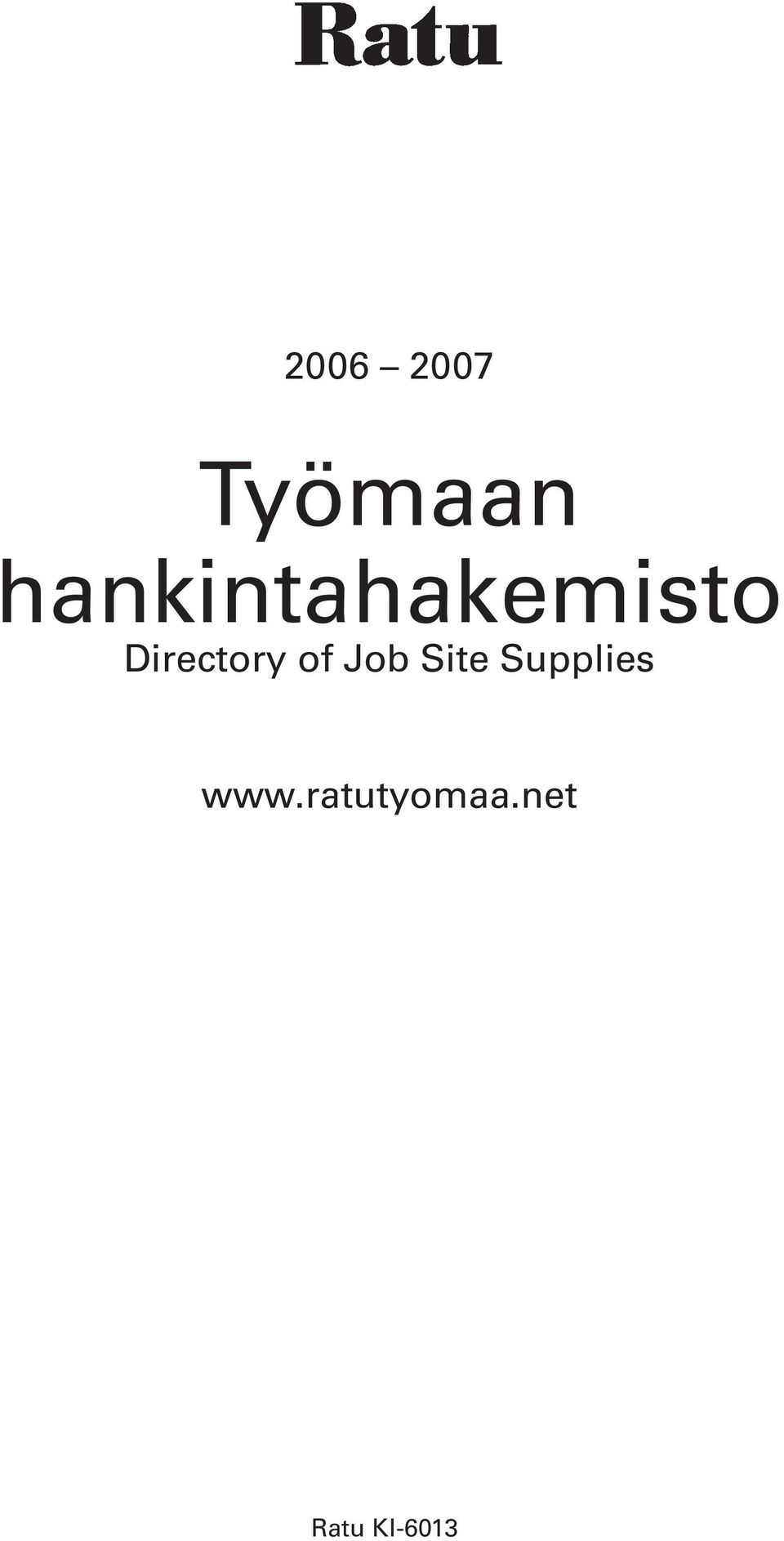 Directory of Job Site