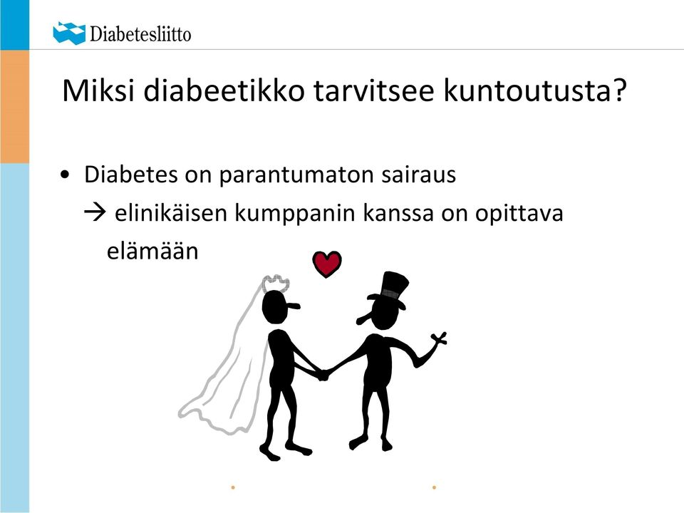 Diabetes on parantumaton