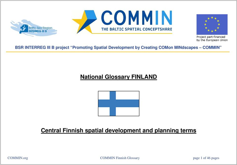 FINLAND Central Finnish spatial development and planning
