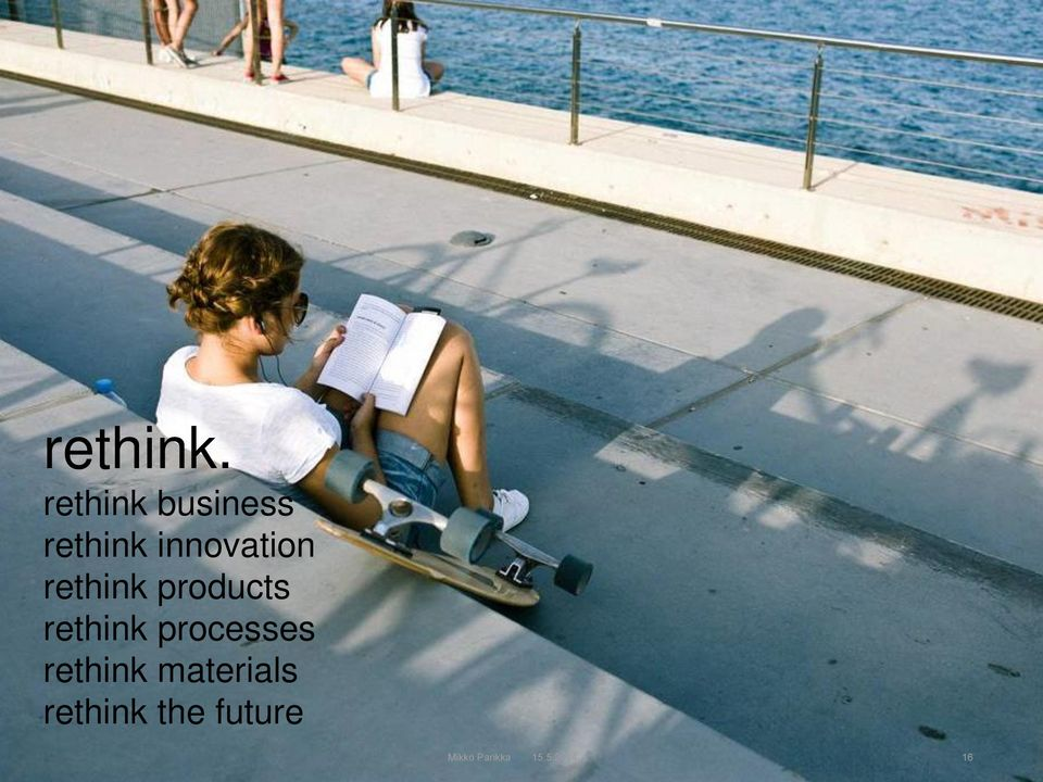 innovation rethink products