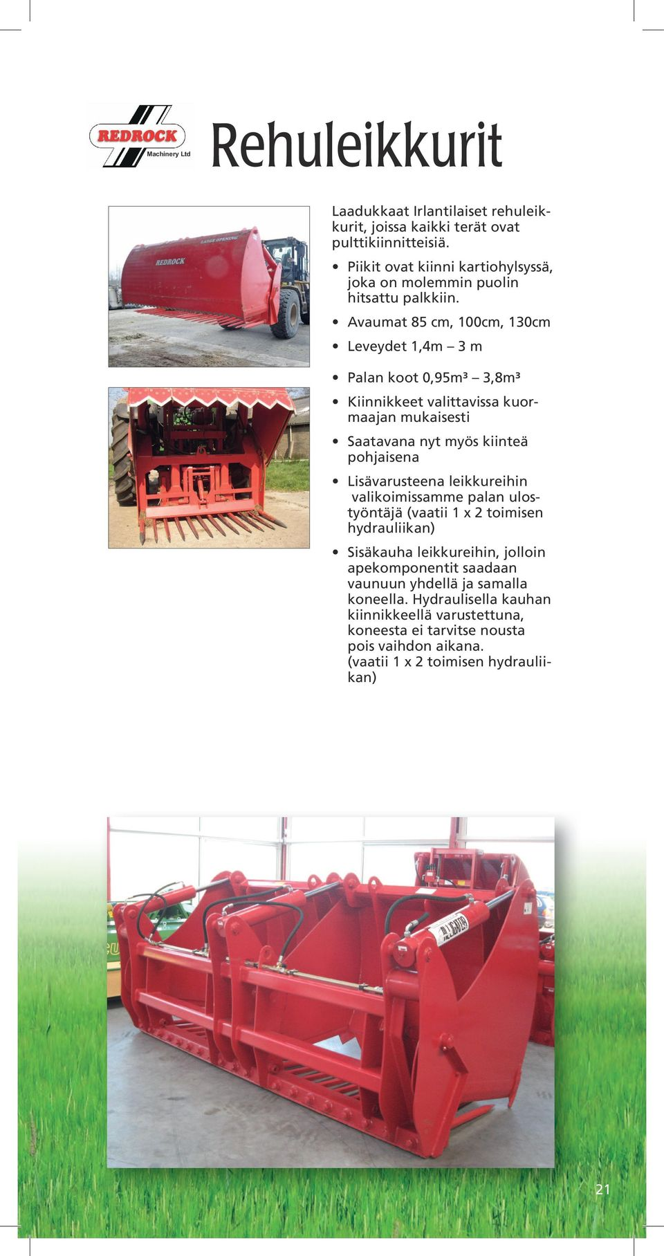 N.Ireland, Bt60 2BL 8 37552390 www.redrockmachinery.
