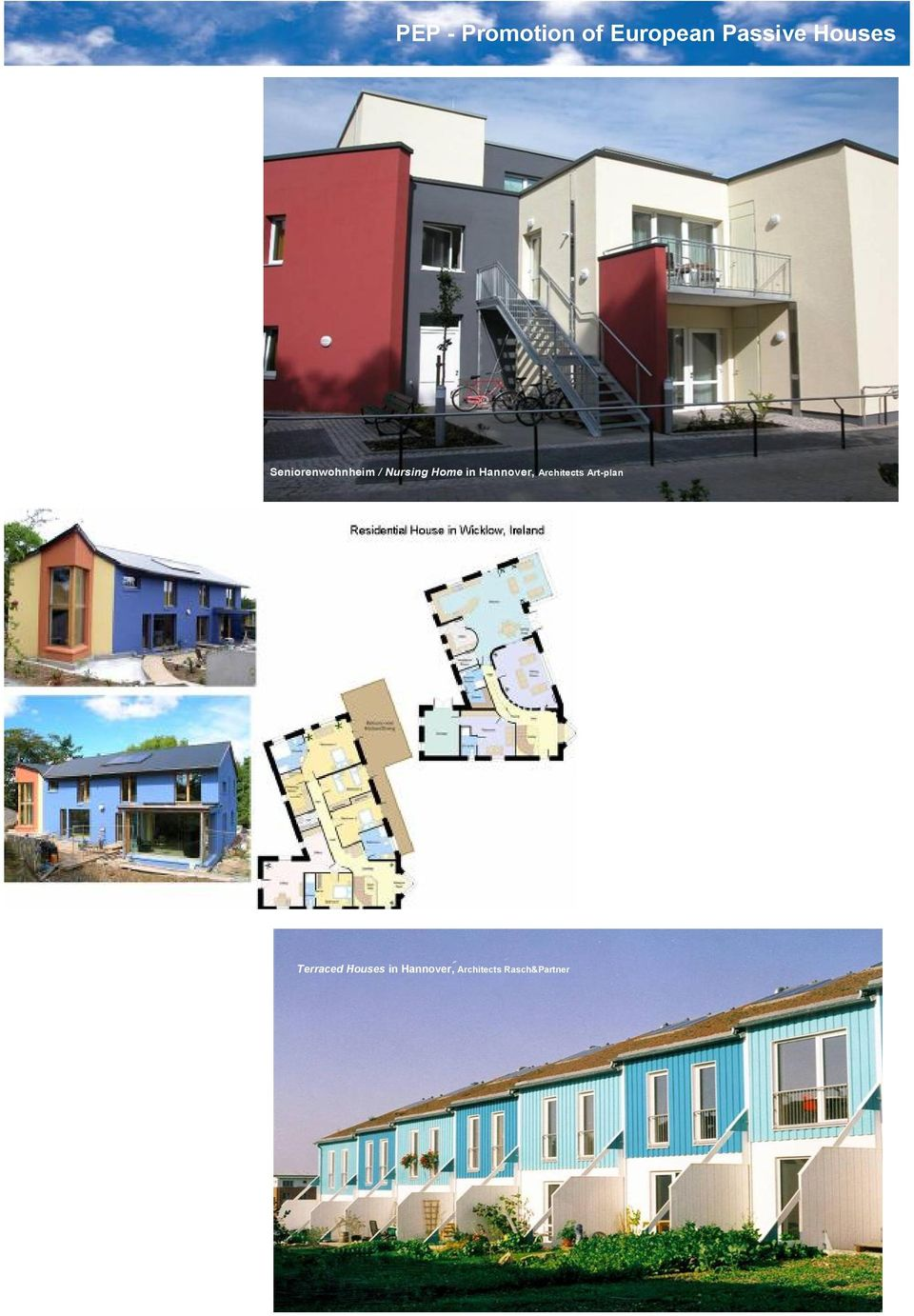 Art plan Terraced Houses in