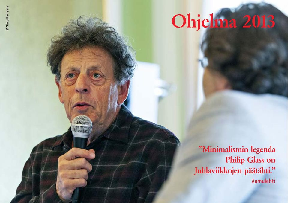 legenda Philip Glass on