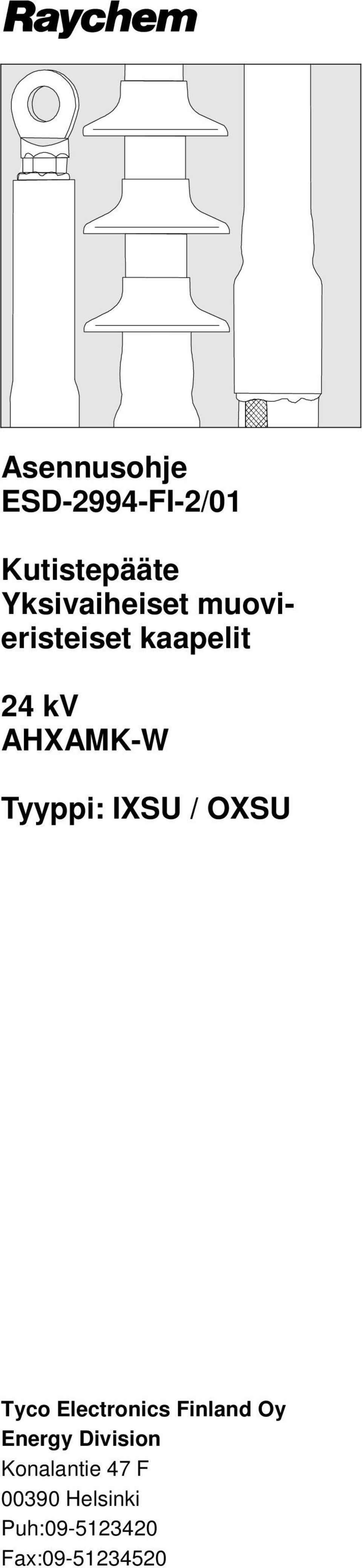 OXSU Tyco Electronics Finland Oy Energy Division