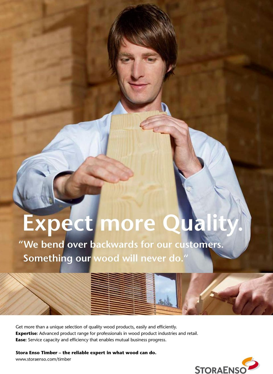 Expertise: Advanced product range for professionals in wood product industries and retail.