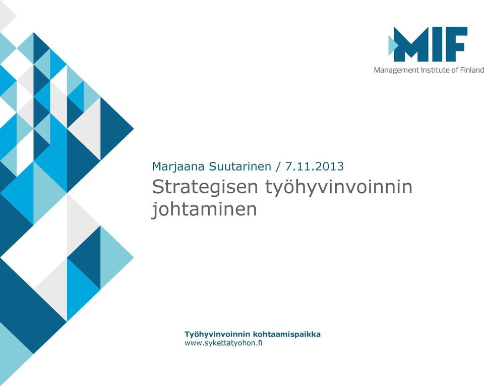 2013 Strategisen