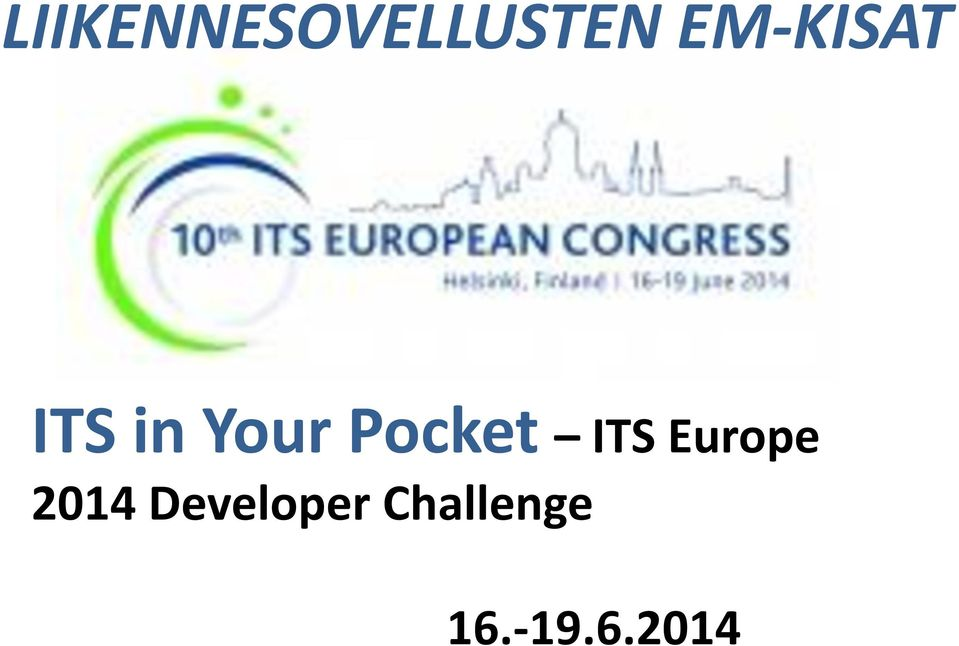 Pocket ITS Europe 2014