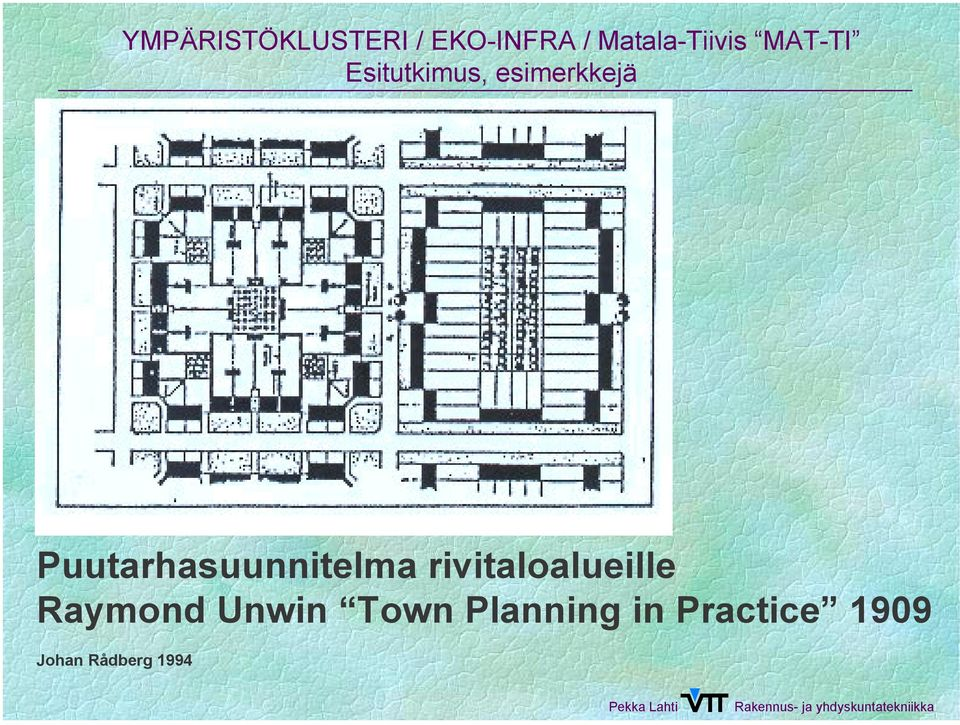 Unwin Town Planning in