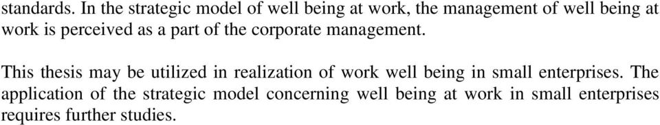 perceived as a part of the corporate management.