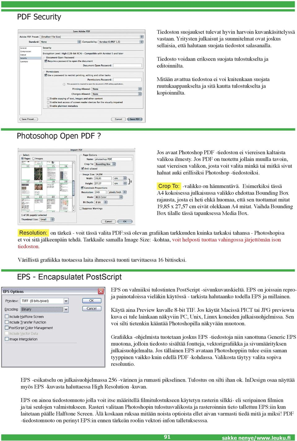 Photosohop Open PDF? Jos avaat Photoshop PDF -tiedoston ei viereisen kaltaista valikoa ilmesty.