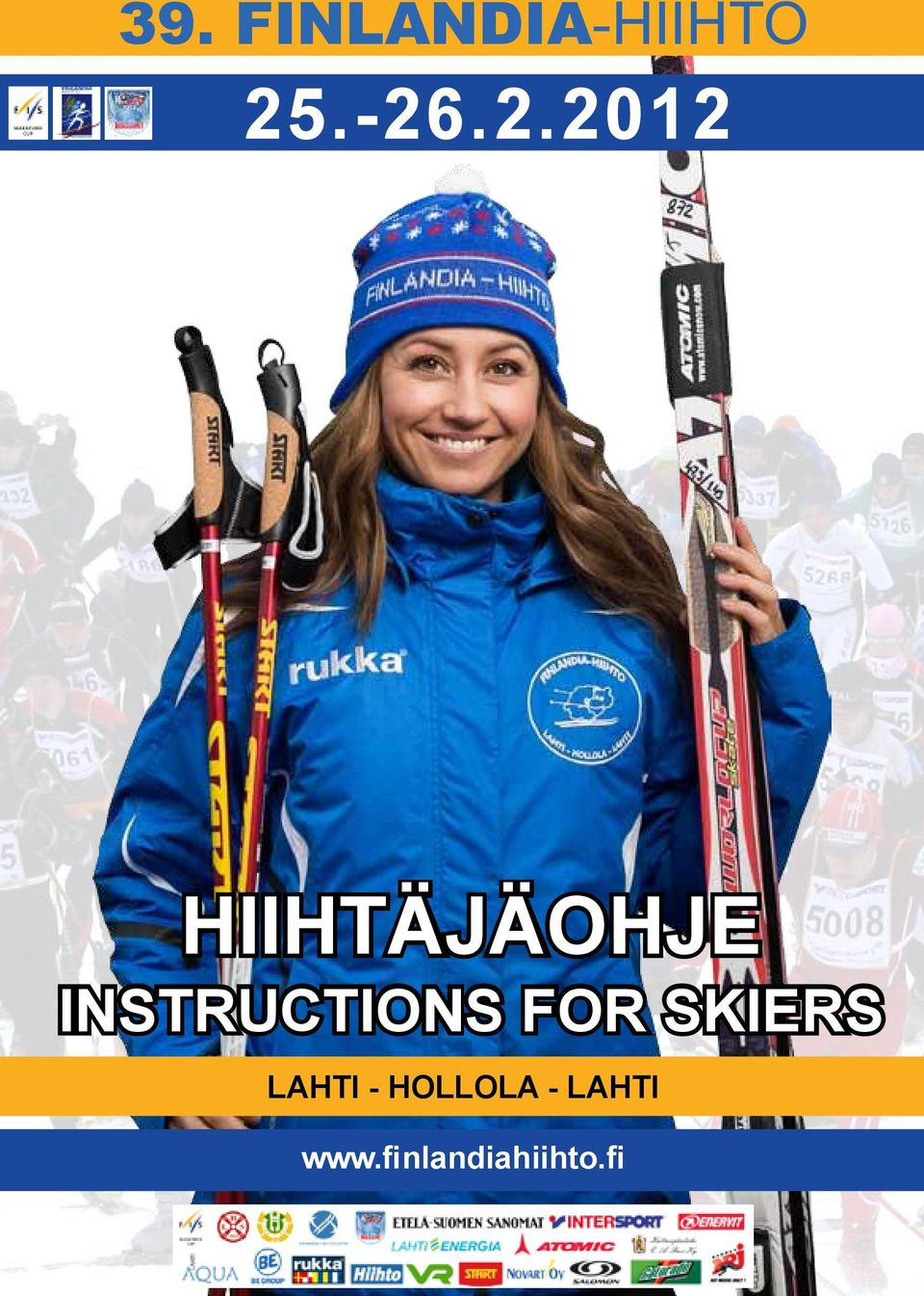 INSTRUCTIONS FOR SKIERS LAHTI