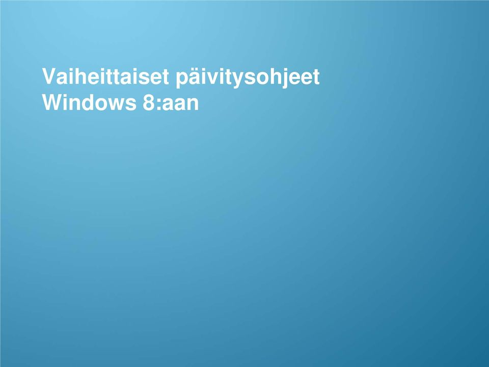 Windows 8:aan