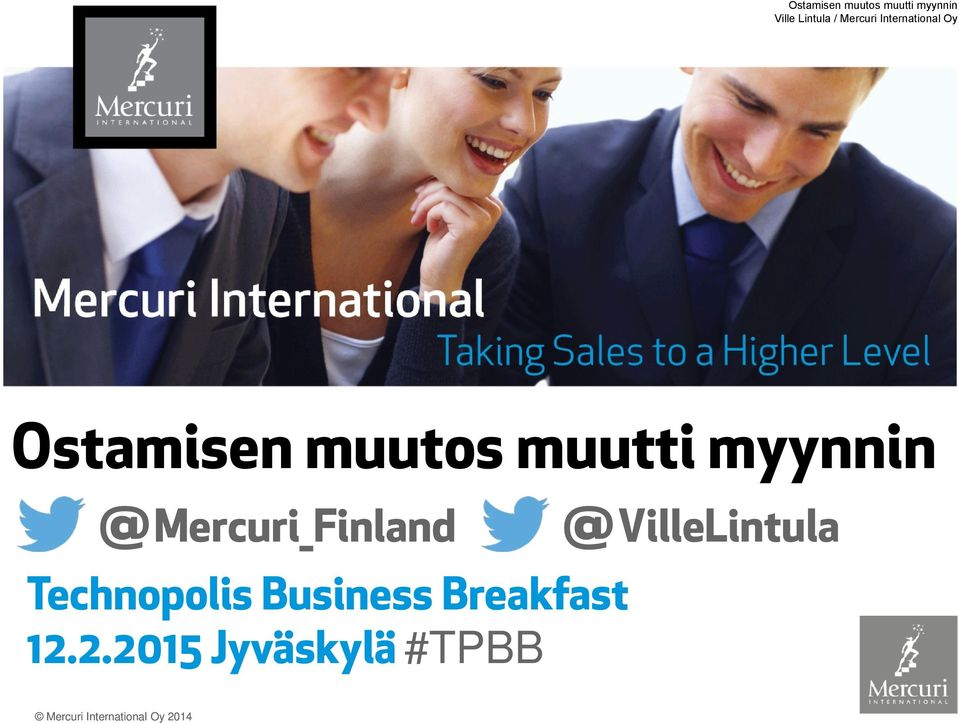 Technopolis Business Breakfast 12.
