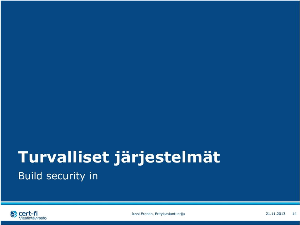 security in Jussi