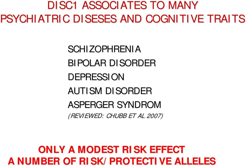 DEPRESSION AUTISM DISORDER ASPERGER SYNDROM (REVIEWED: