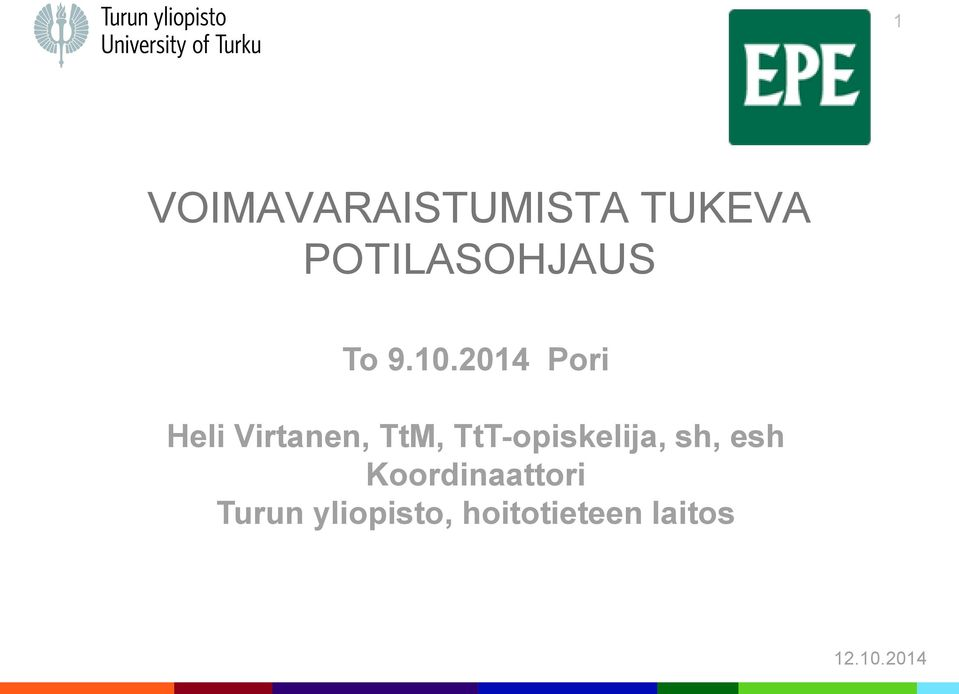 2014 Pori Heli Virtanen, TtM,