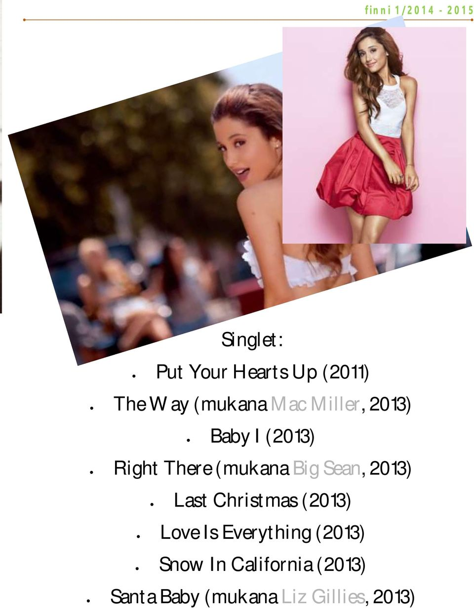 2013) Last Christmas (2013) Love Is Everything (2013)