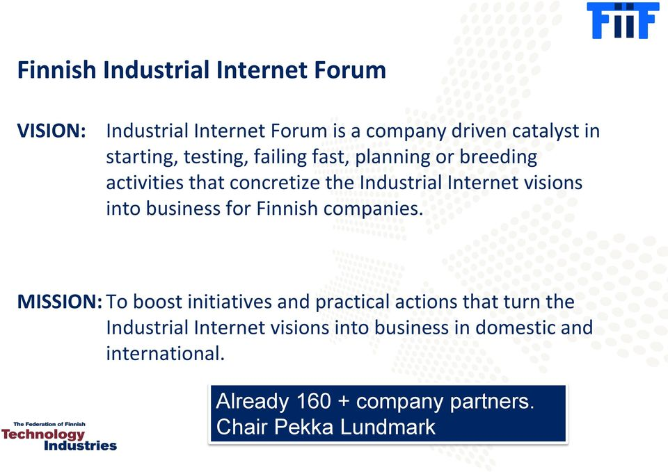 business for Finnish companies.