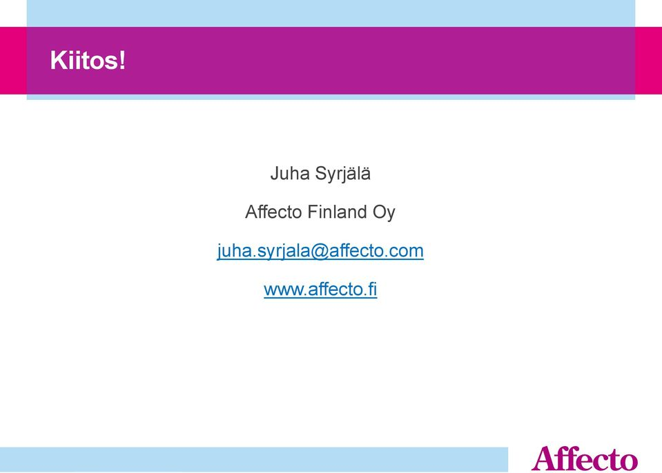 Affecto Finland Oy