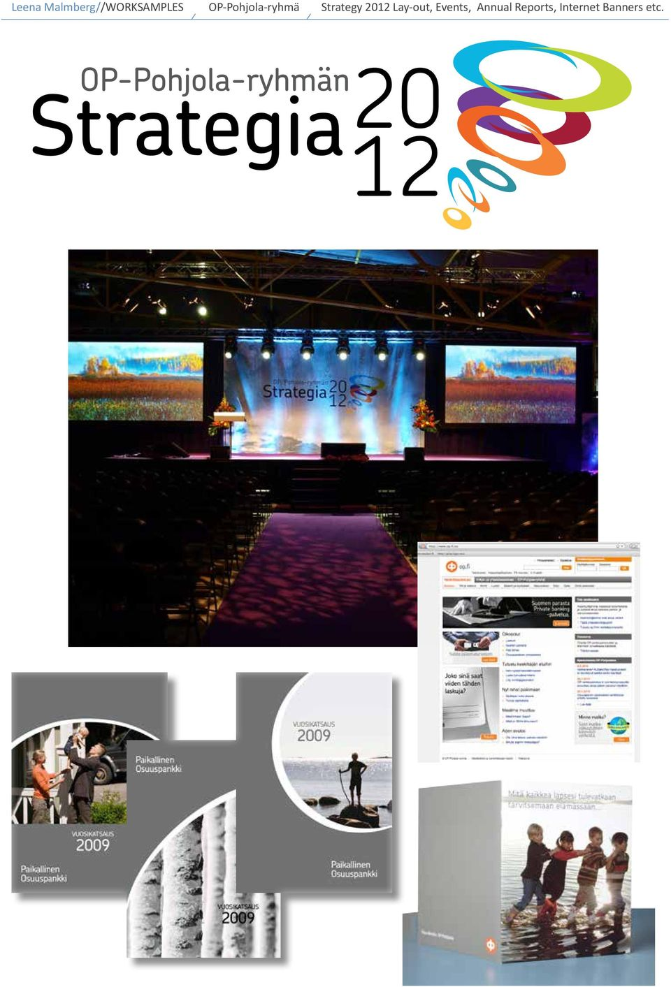 2012 Lay-out, Events, Annual