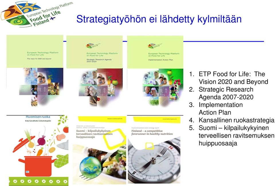 Strategic Research Agenda 2007-2020 3.