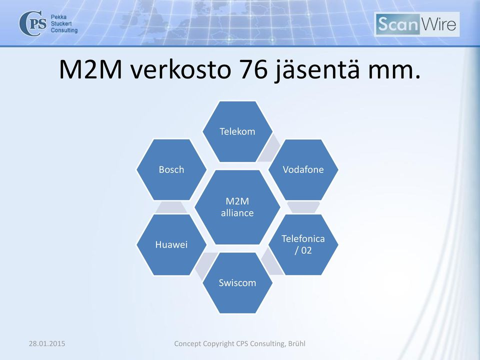 Vodafone M2M alliance