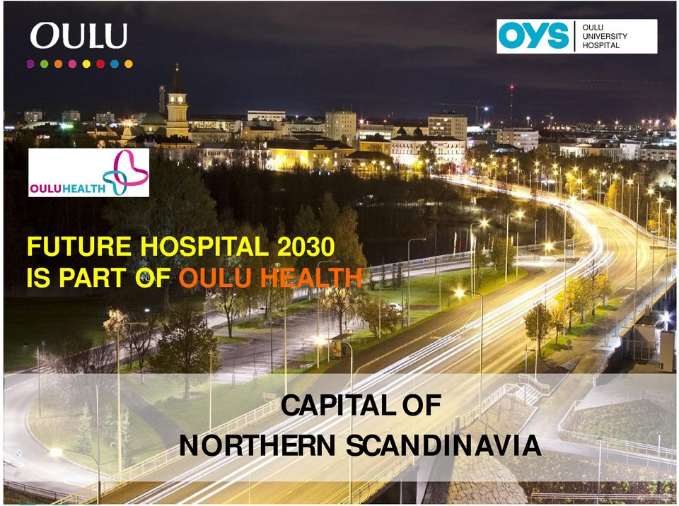 PART OF OULU HEALTH