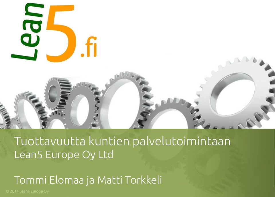 Lean5 Europe Oy Ltd